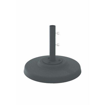 Tropitone Aluminum Free Standing Umbrella Base Finish: Graphite