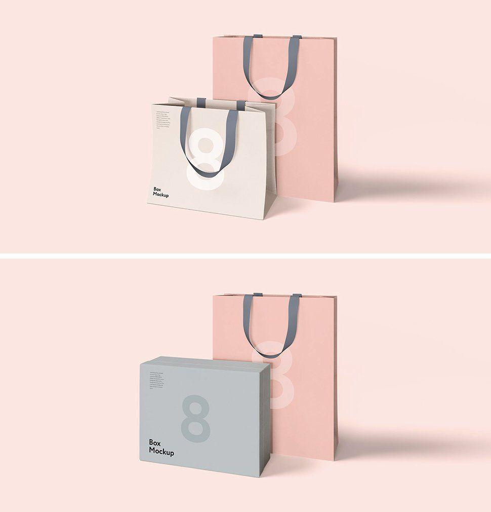 Download 20 Free Beautiful Shopping Bag Mockups To Download Bag Mockup Paper Bag Design Shopping Bag Design