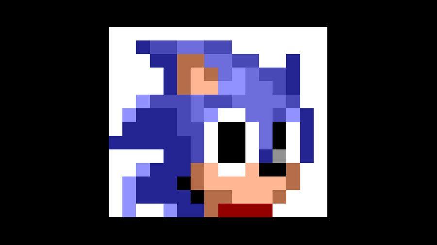 Sonic Item Box Wallpaper, Sonic 1-Up 1 by KBABZ