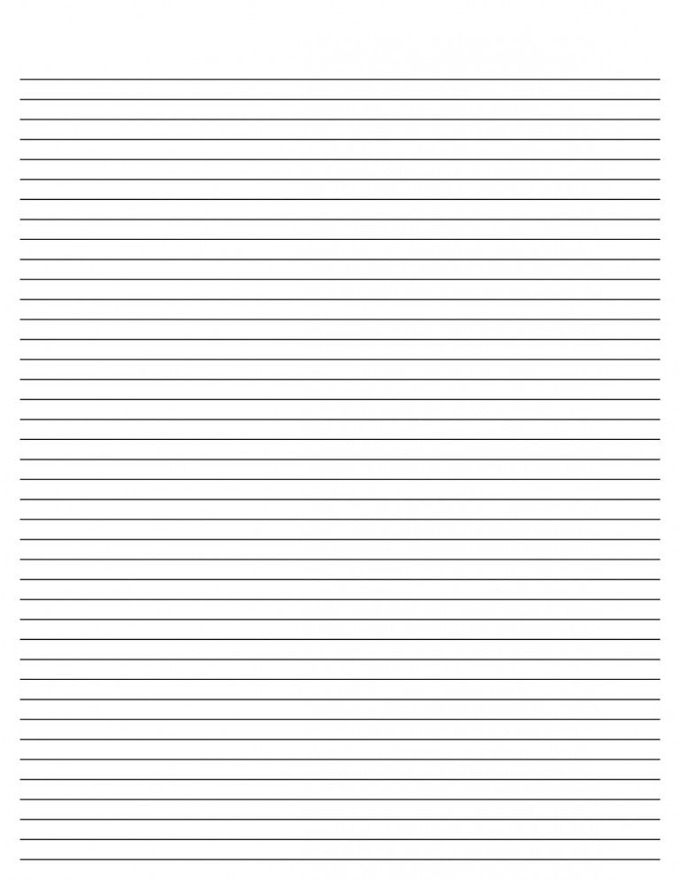 Lined Paper For Writing Printable Lined Paper Paper Template Free Printable Paper Template