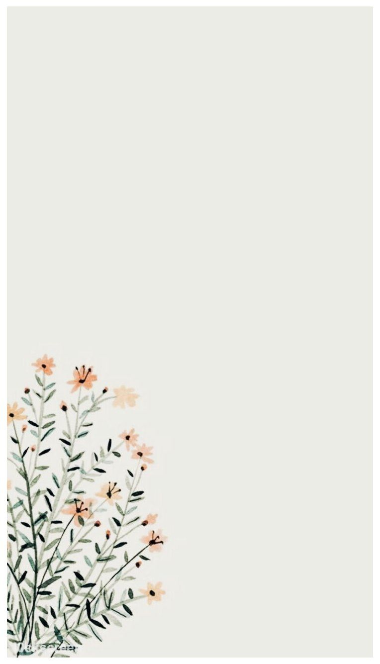 Flowers Iphone Background Simple Wallpapers Iphonebackgroundsimplewallpapers Wallpaper Simple Iphone Wallpaper Wallpaper Iphone Boho Minimalist Wallpaper