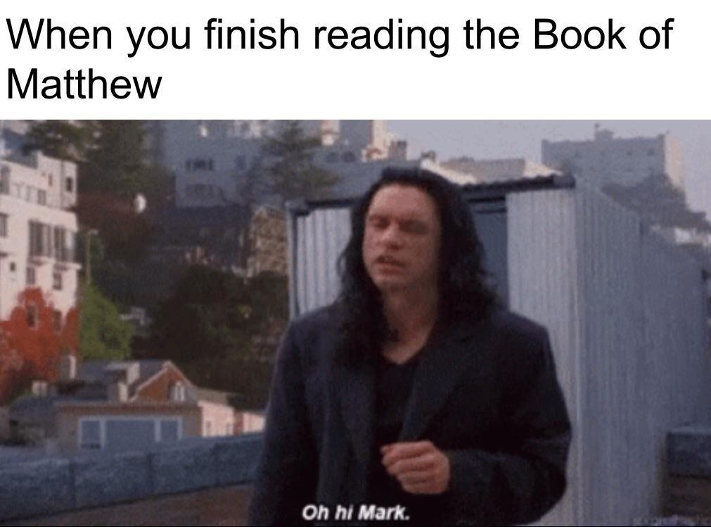 🅱️00k of Matthew