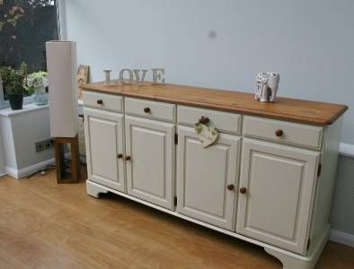 Stunning Large Shabby Chic Sideboard Ducal Pine Muebles