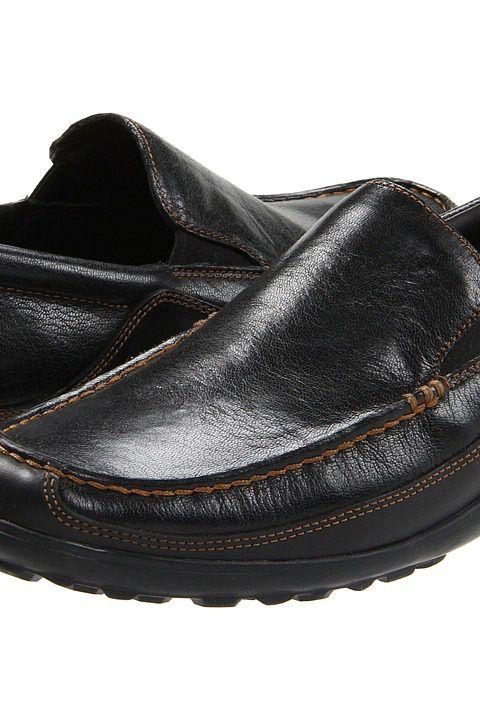 Cole Haan Tucker Venetian (Black) Men's Slip-on Dress Shoes - Cole Haan