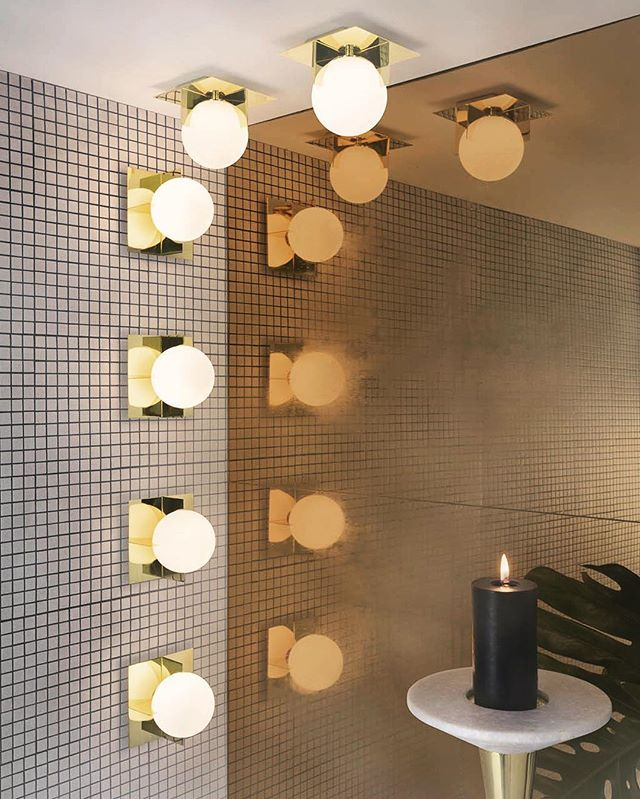 PLANE wall lights, for the bathroom (rated IP44 and UL Damp ...