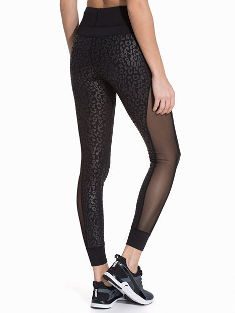 d89dcff8f02a Meshed Leopard Tights - Nly Sport - Leopard - Tights - Sportkläder - Kvinna  - Nelly.com