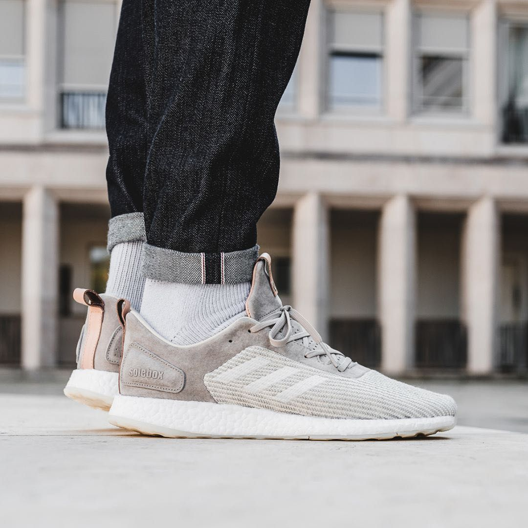 Insidesneakers Solebox X Adidas Pureboost Dpr Italian Leathers Pack B27992 Sneakers Men Adidas Pure Boost Latest Sneakers