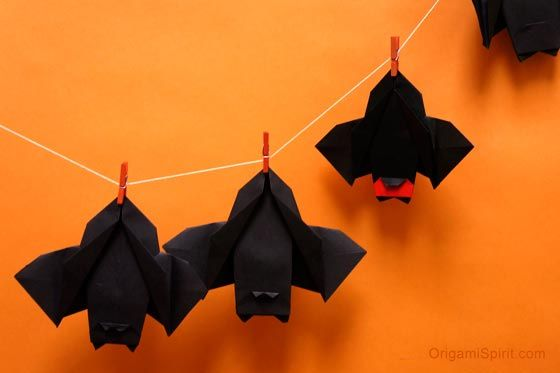 Post image for Make This Delightful Paper Bat for Halloween ...