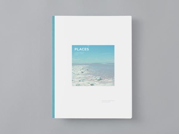 simple colour scheme book layout design zine chapbook spo