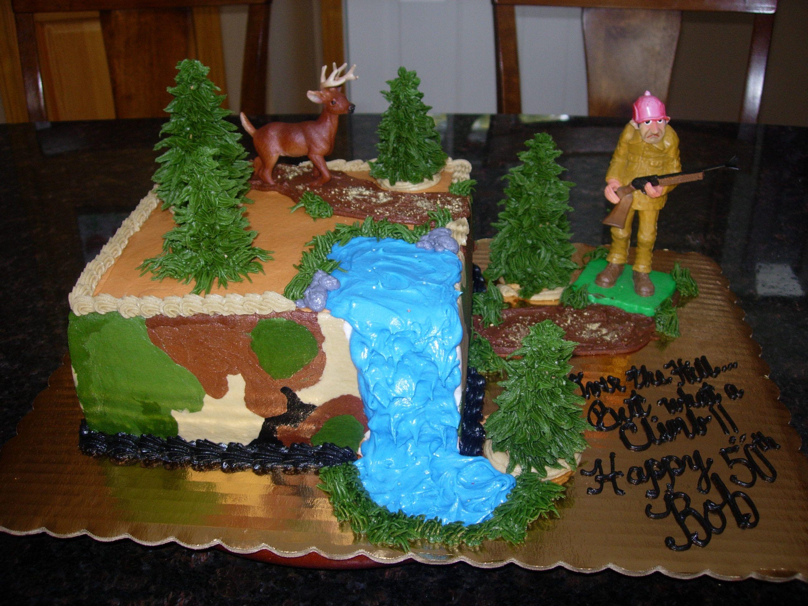 Hunting cake hunting birthday cakes hunting cake