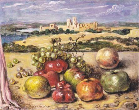 Arte e cibo. Oggetti,dipinti,design dai Piceni ai giorni nostri. Artist: De Chirico.