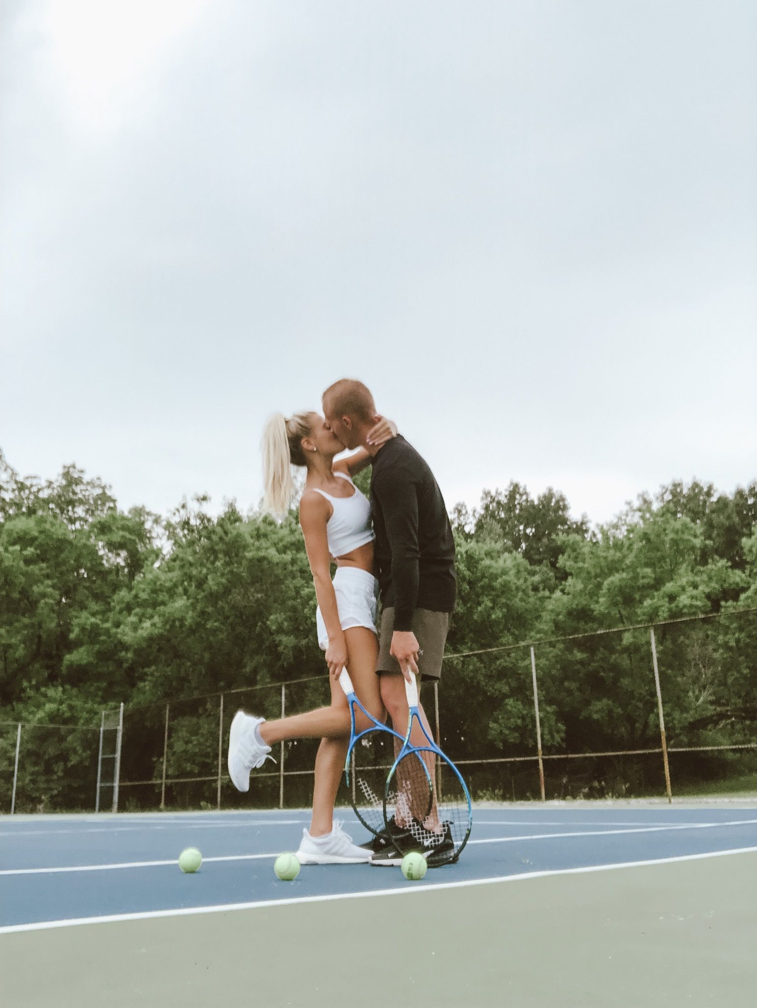 Get The Look Tennis Pro Catherine Bellis Valentino Inspired Look Tennis Hair Tennis Outfit Women Tennis Hairstyles