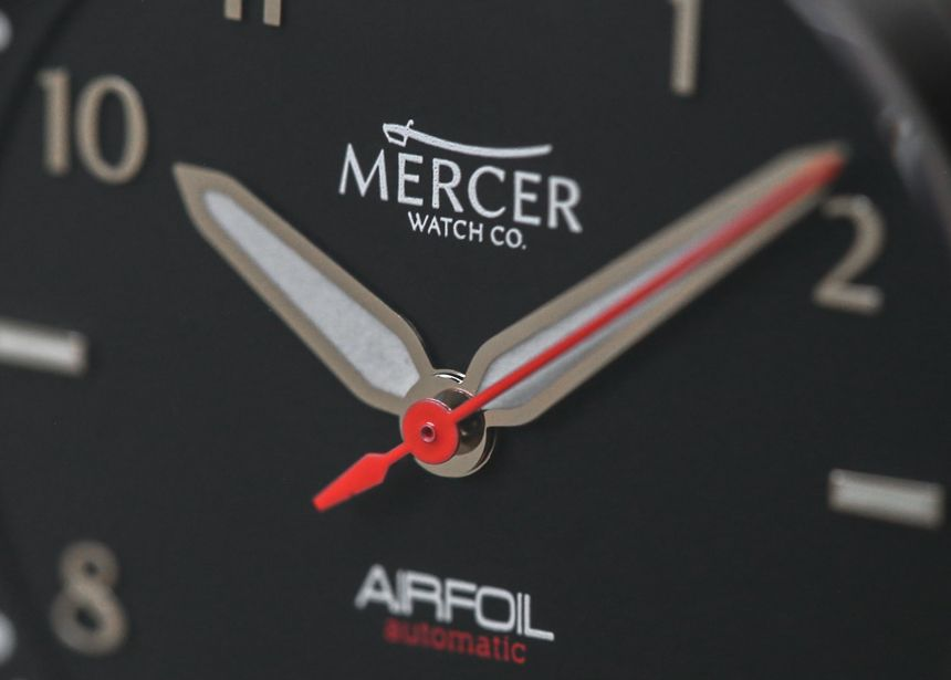 "Mercer Airfoil Watch Review - by Brett Harmon - More on this limited run at: aBlogtoWatch.com - ""The Mercer Watch Company Airfoil is a solid-value-proposition pilot's watch that I've really grown fond of from a small East Coast watch brand located in historic Central New Jersey. For those not familiar with it, airfoil is an aeronautical term referring to a shape of wing that essentially provides lift at a given angle. Given the design and shape of the watch..."""
