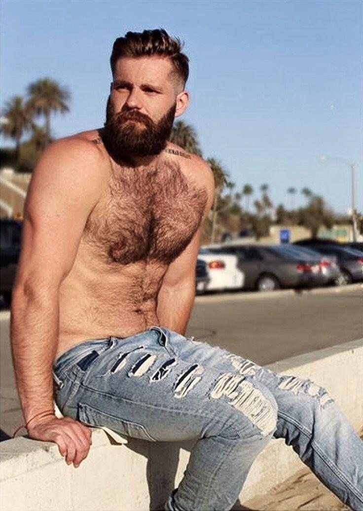 Homme Barbu Nu hairy hunky men   hairy hunks   pinterest   beard no mustache, hair