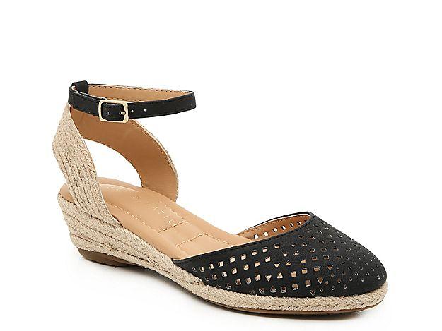 14fa97e4370 Women Nala Espadrille Wedge Sandal -Black in 2019   Products   Shoes ...