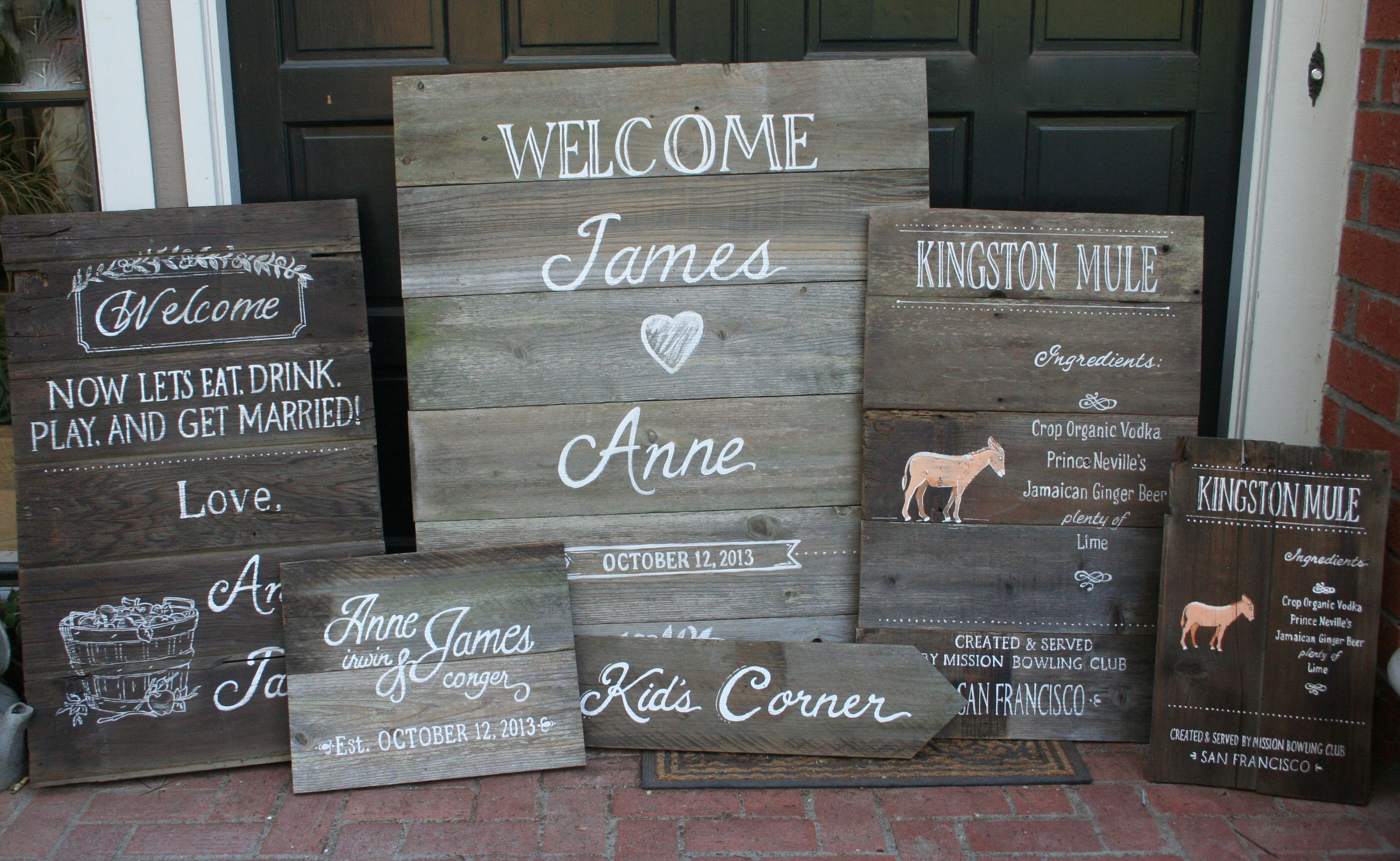 2nd Half Of A Reclaimed Barn Wood Collection For Sonoma Wedding 20 Signs Total Salvage Barn Wood Reclaimed Barn Wood Wedding Signs Barn Wood Signs Barn Wood