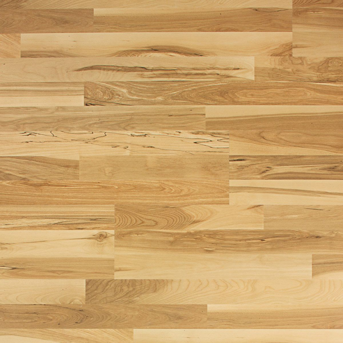 Vanilla swirl maple 3 strip planks qs 700 collection for Maple laminate flooring