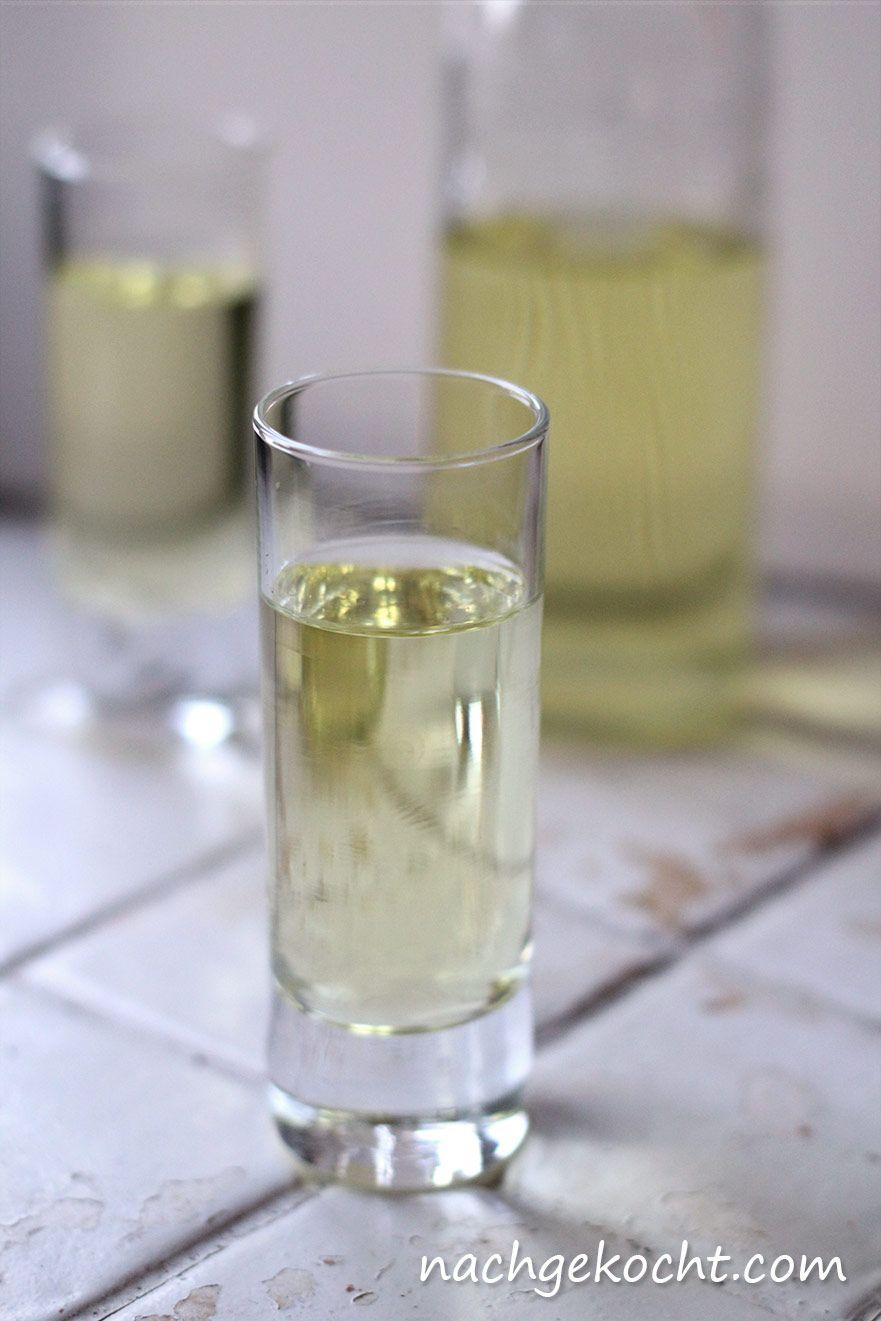 Quickpress: Zitronen-Milch-Likör | Klarer schnaps, Zitrone ...