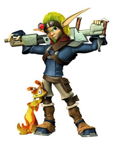 Jak and Daxter. The ONLY video game I can successfully beat on my own. I must say, I am awesome at this game. Not to mention it numbs my mind for hours at a time if need be.