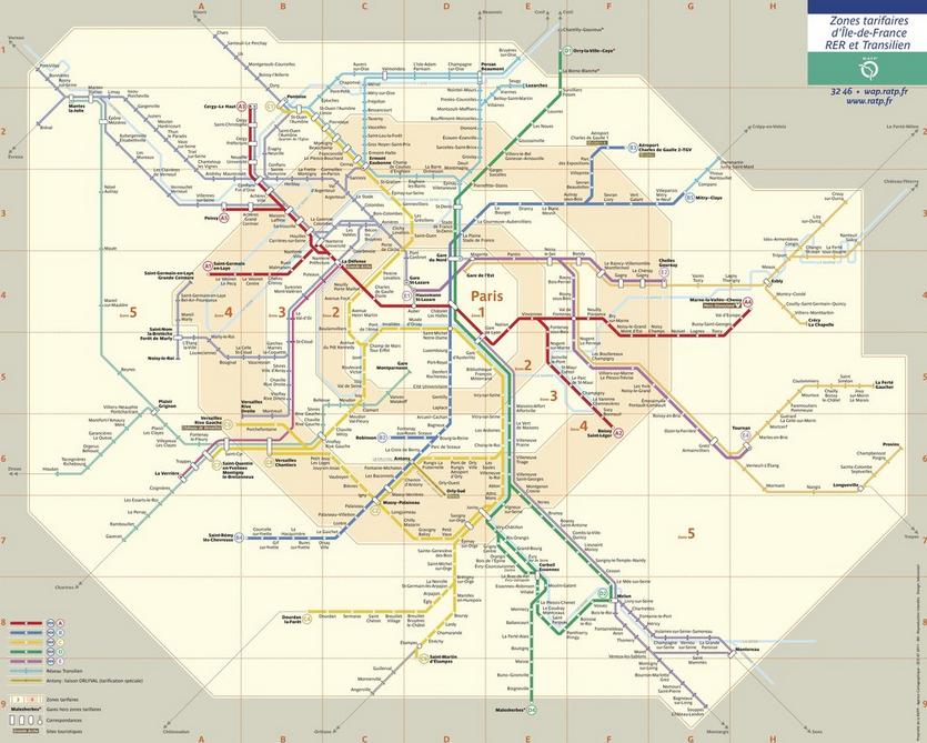How To Get Paris Metro Tickets For Cheap Paris Metro Train Map