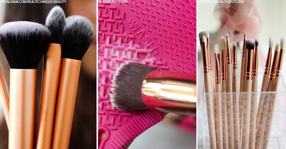 The Easy Way to Clean Your Make-Up Brushes | Makeup ...
