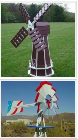 Garden And Lawn Windmills For Sale. These Include Wooden, Metal, Dutch,  Plans
