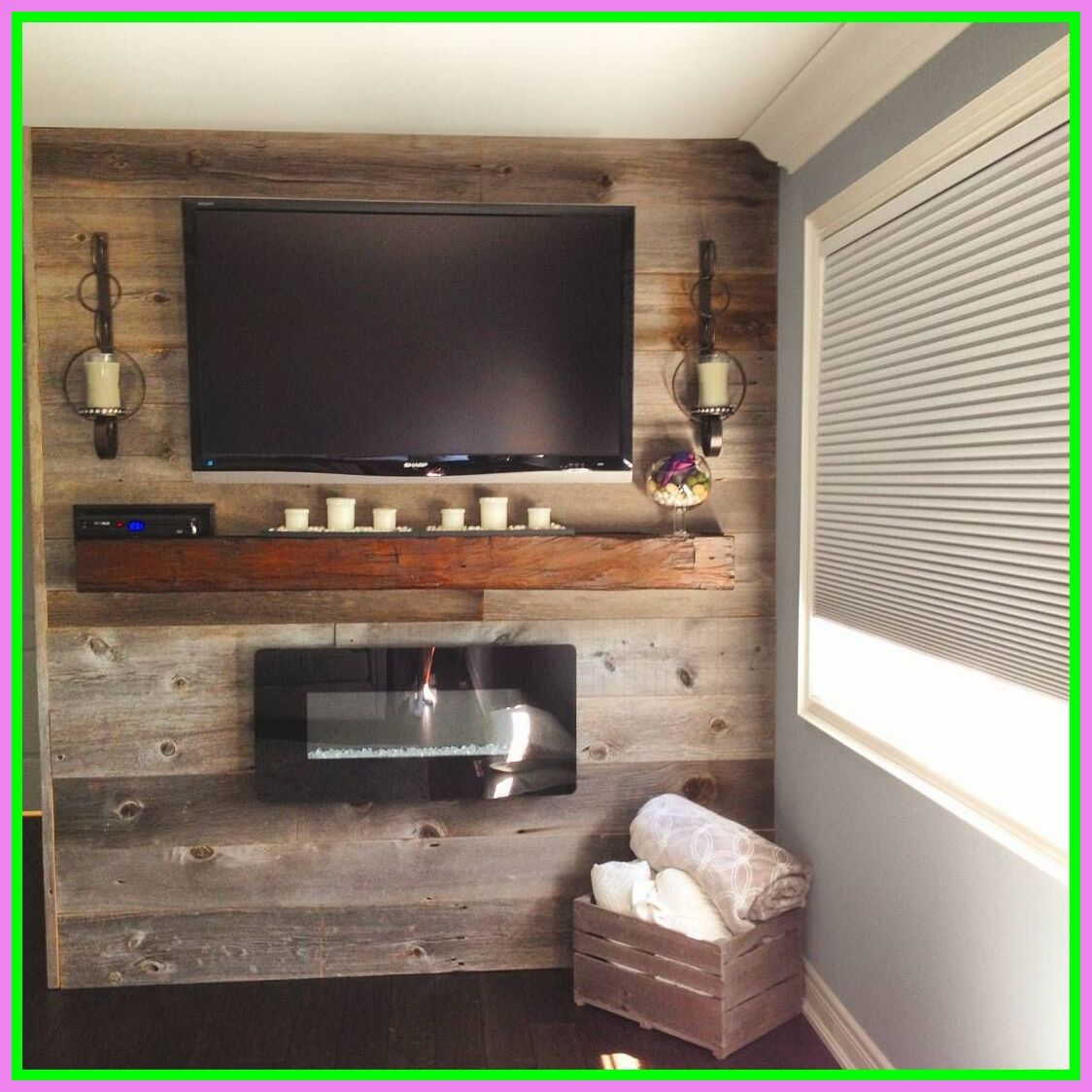 130 Reference Of Reclaimed Wood Tv Stand With Fireplace In 2020 Barn Wood Walls Living Room Reclaimed Wood Tv Stand Tv Stand Wood