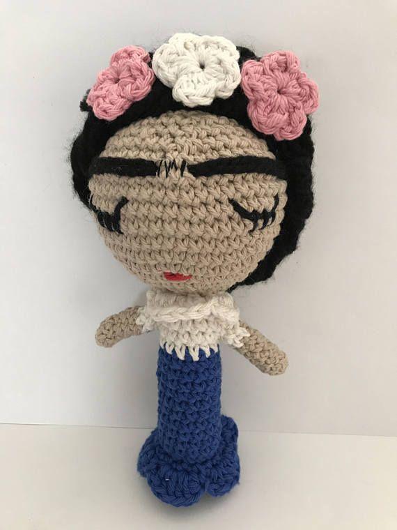 Frida sonaja, frida Doll, Frida, Amigurumi Doll, handmade doll