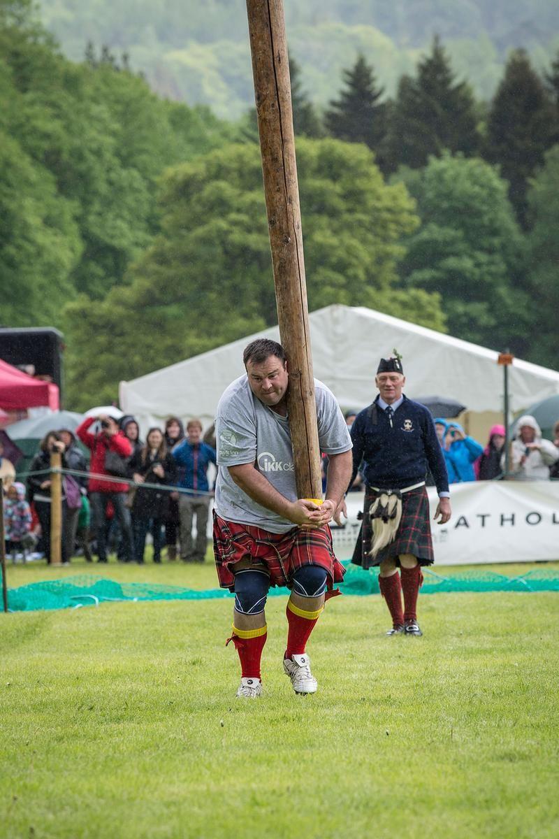 Los Juegos de las Highlands en Escocia Highland games