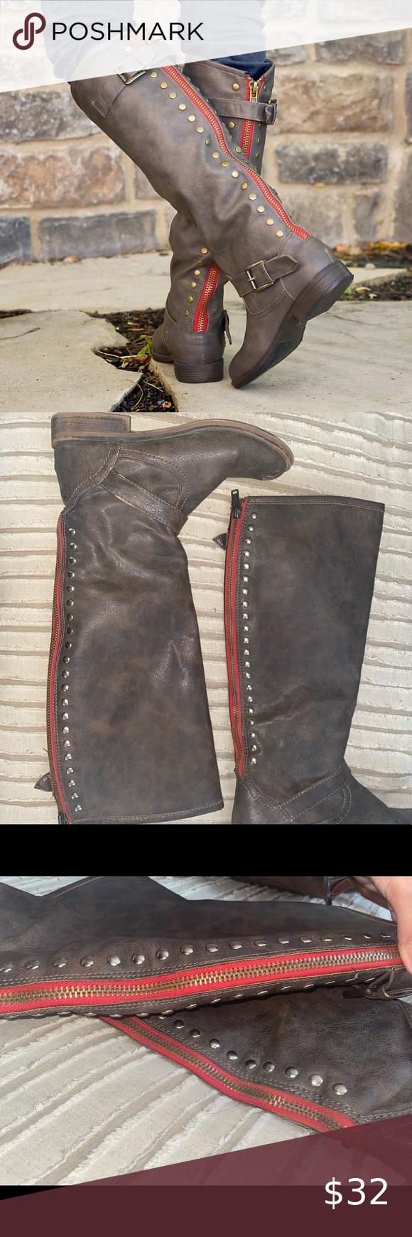 Kohl's Journee Spokane Knee High Boots
