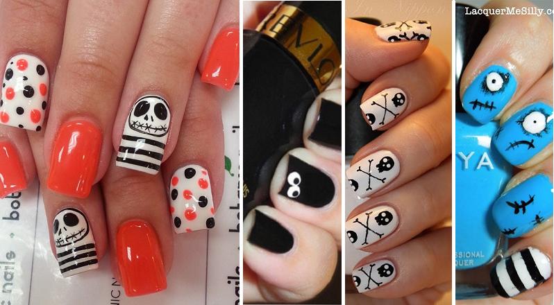 30 nouvelles idées pour faire vos ongles à l'Halloween!