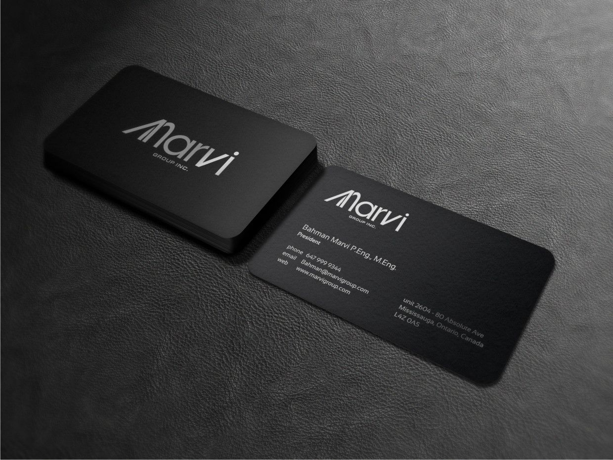 Business Card Design by Atvento Graphics for Engineering ...
