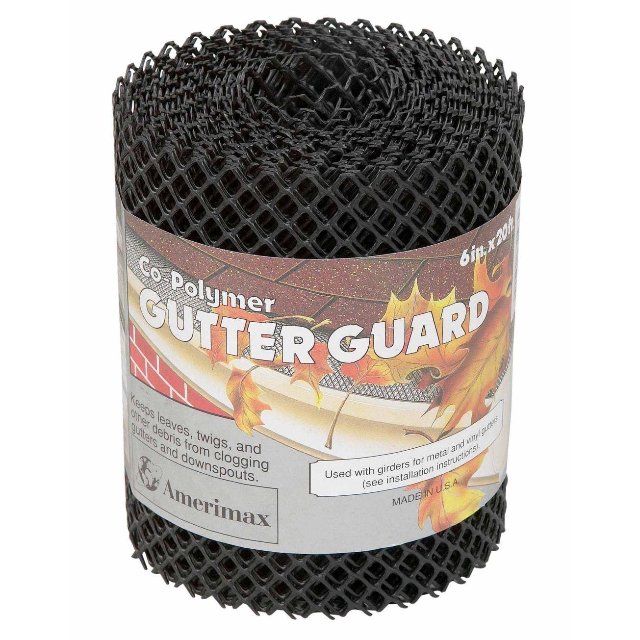 Gutter Guards Gutter Screens Downspout Extensions At Ace Hardware Gutter Guard Gutter Vinyl Rolls