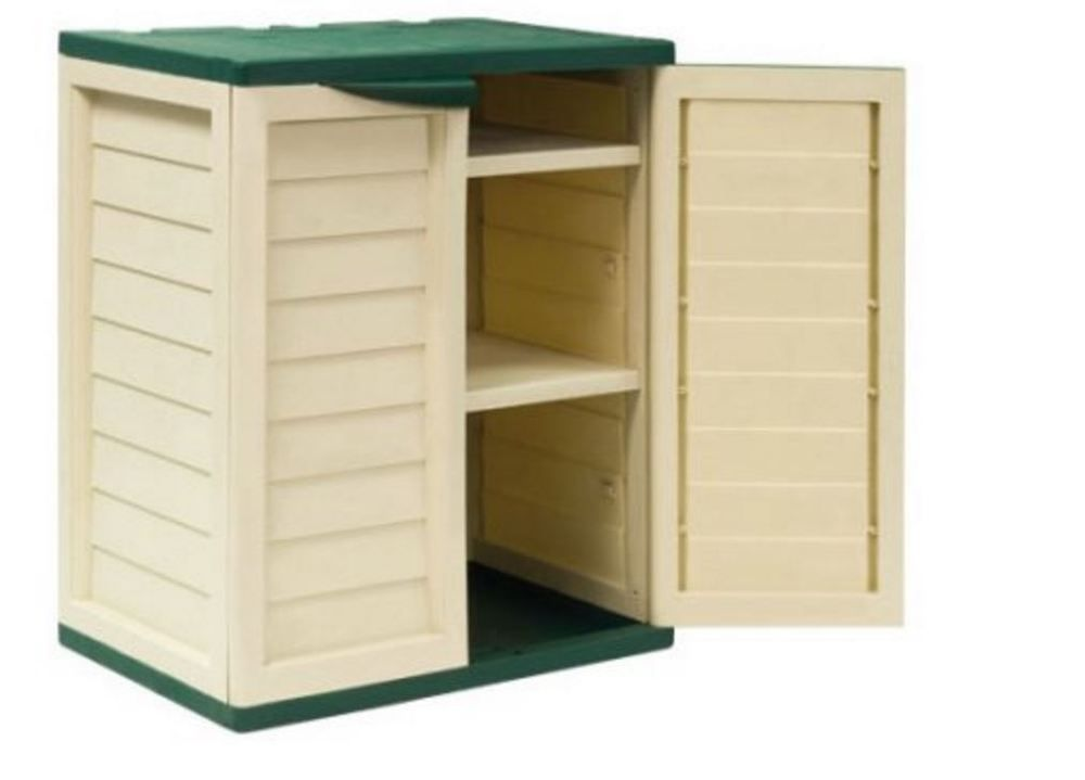 Portable Storage Sheds Plastic Outdoor Cabinets Small Box