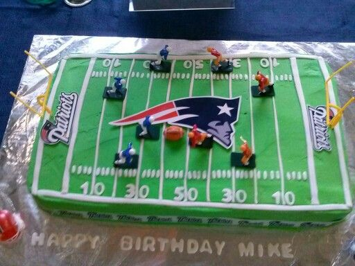 Cake Decorating Edible Plaques : Patriots cake- edible plaque (walmart, grocery stores ...