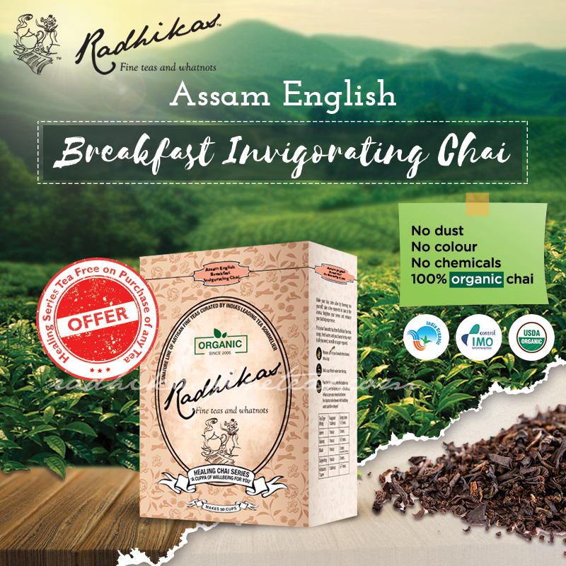 Assam English Breakfast Invigorating Chai Tea Blends Lemon Grass Chai