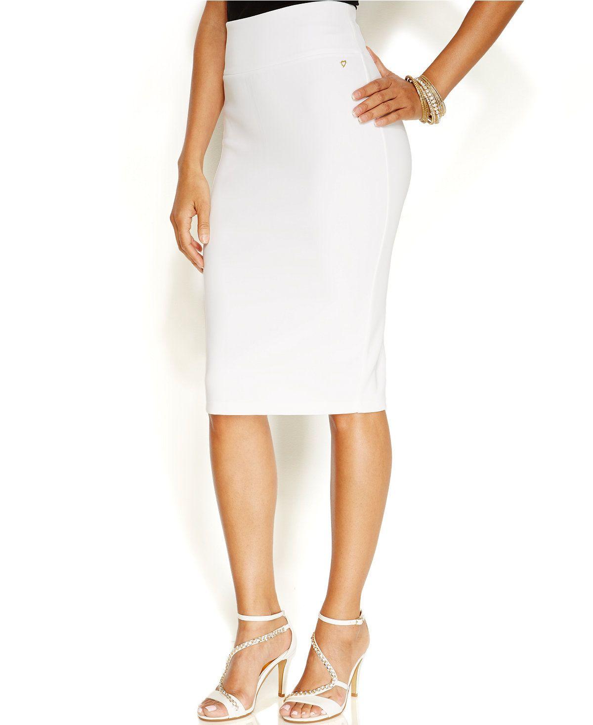Thalia Sodi Scuba Pencil Skirt, Only at Macy's - Skirts - Women - Macy's