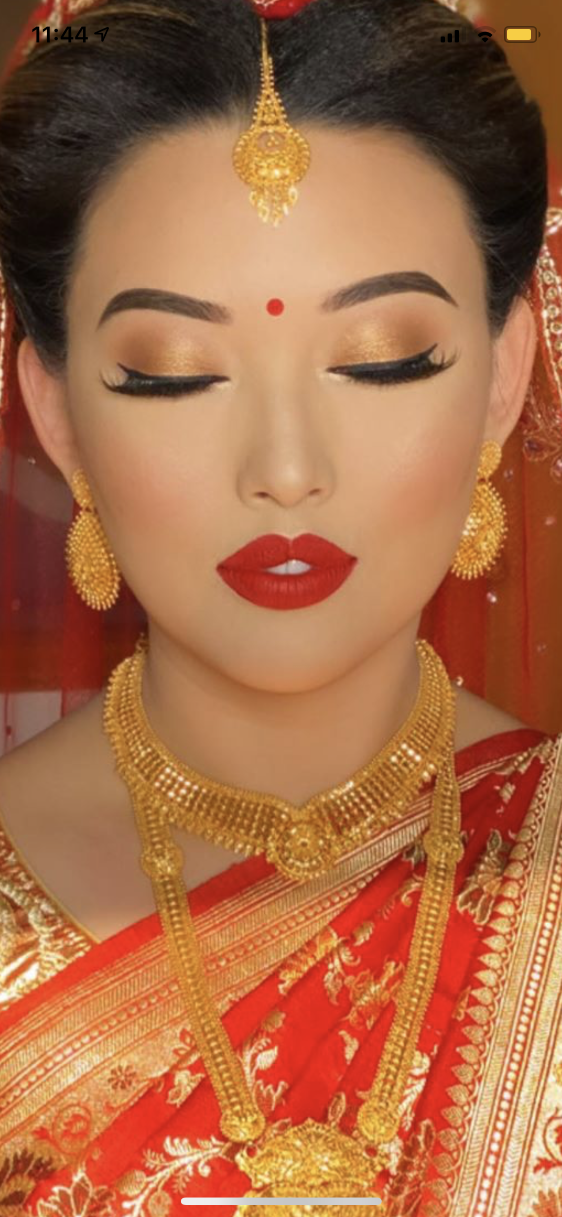 Nepali Bride Indian Bride Makeup South Asian Wedding Makeup Indian Bride Hairstyle