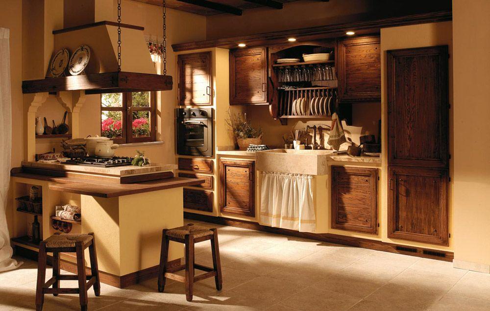 Cucine in muratura cucina giulietta c da zappalorto - Cucine professionali da casa ...