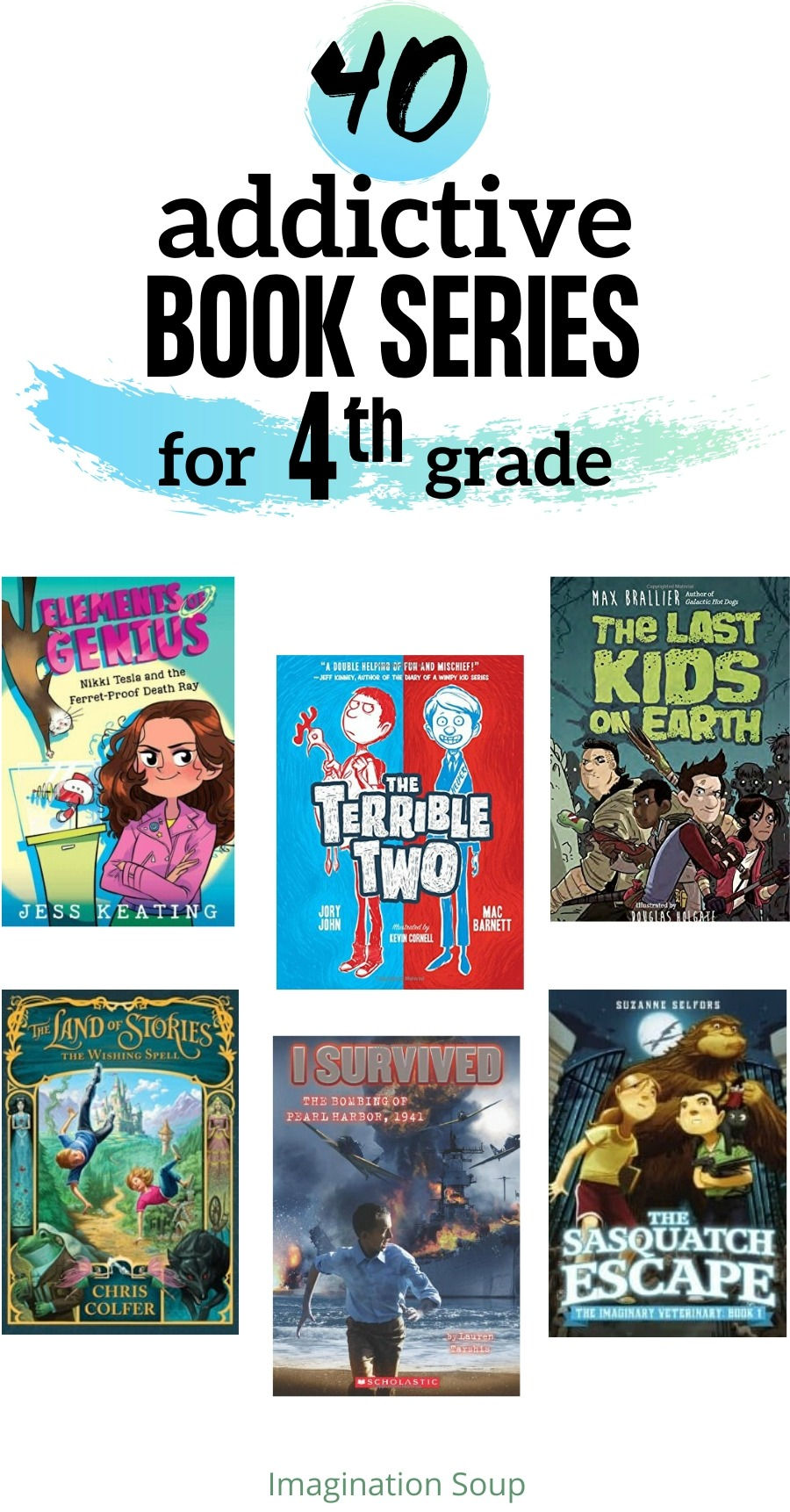40 Good Book Series For 4th Graders That Will Keep Them Reading Kids Book Series Book Series For Boys 4th Grade Books