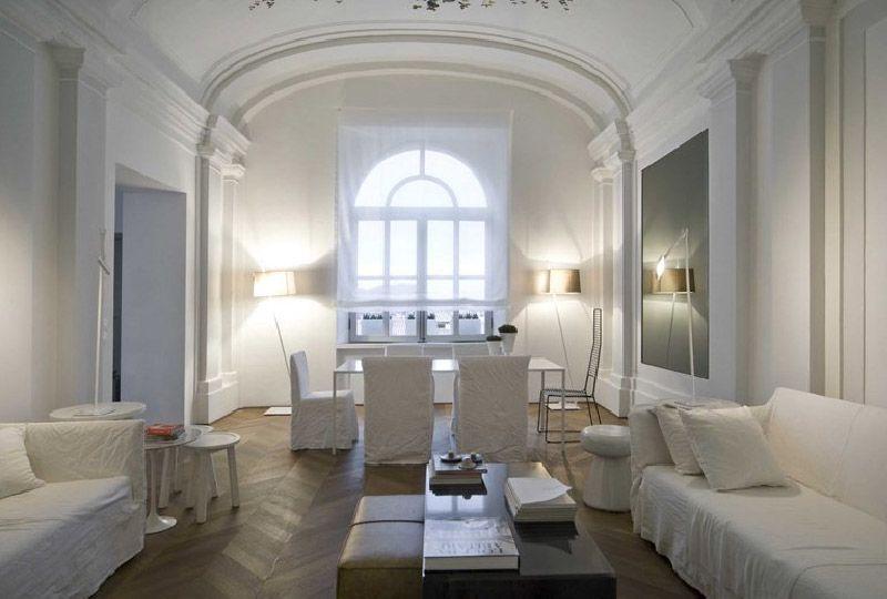 Il bianco per esaltare l'architettura, dentro e fuori ...