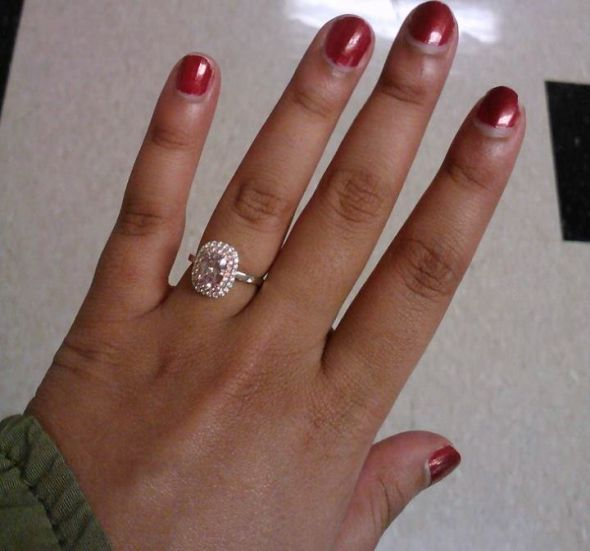 This ring looks like a delicious pastry Sparkles Are A Girls