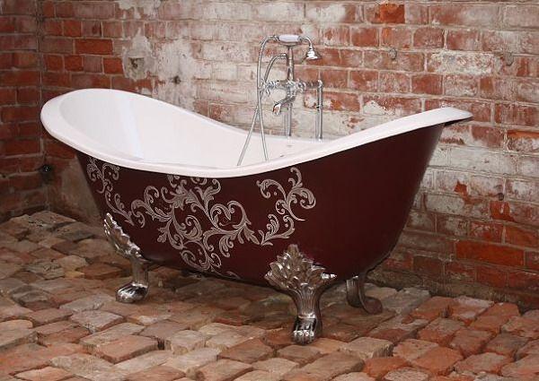 The Beauty Of Freestanding Bathtubs Badewanne Freistehende Badewanne Rote Badezimmer