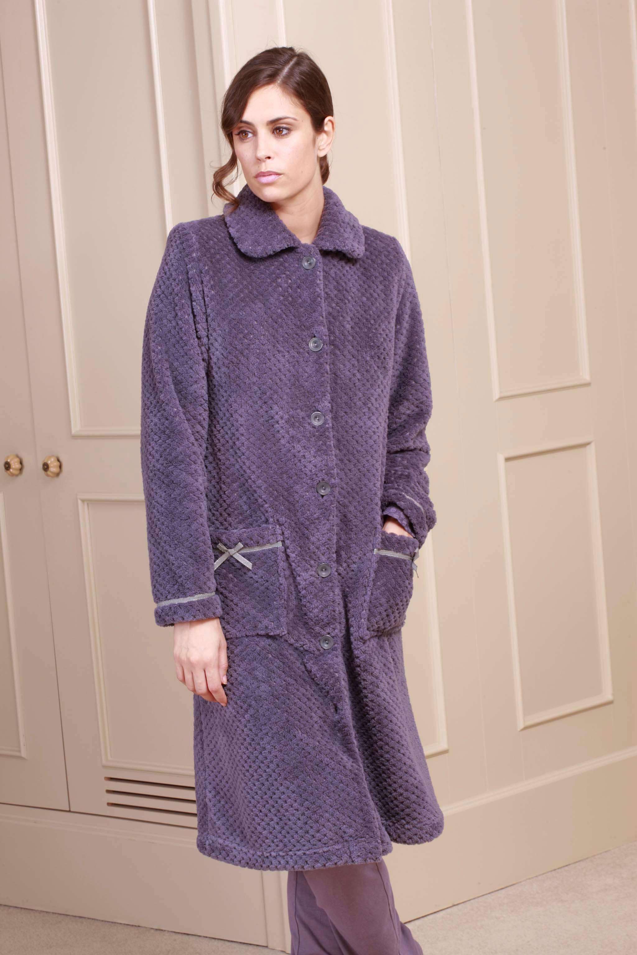 Colección de pijamas y batas de Egatex para la campaña Otoño ...