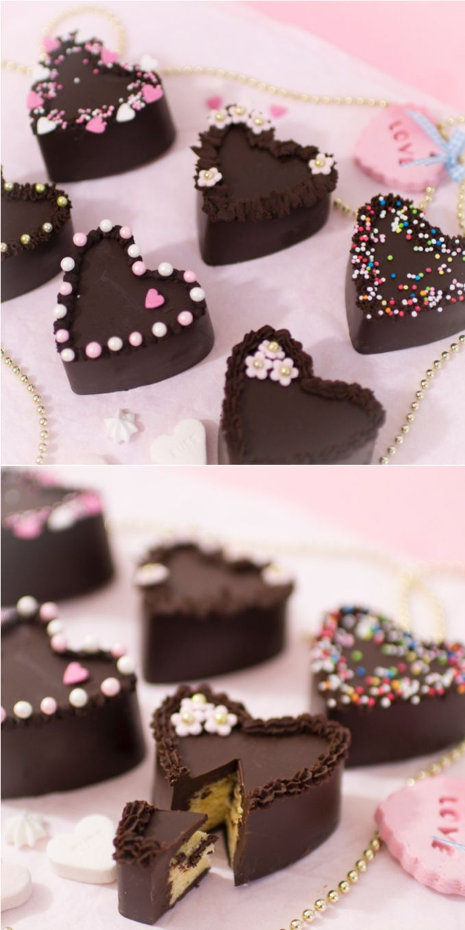 Frau Zuckerfee Rezept Fur Schokokuchen Schokoladen Herzen