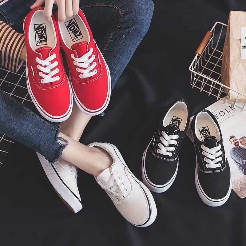 Sepatu Wanita Vdmz Women Size 35 39 Ready Warna Putih