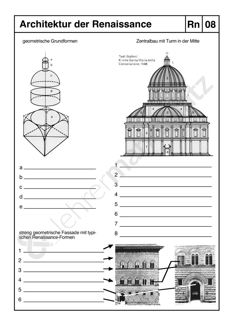 Architektur der Renaissance - Möchtest du selbst erstellte digitale ...