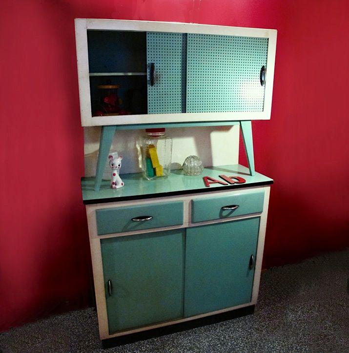 alacena armario cocina verde  aparadores de cocina