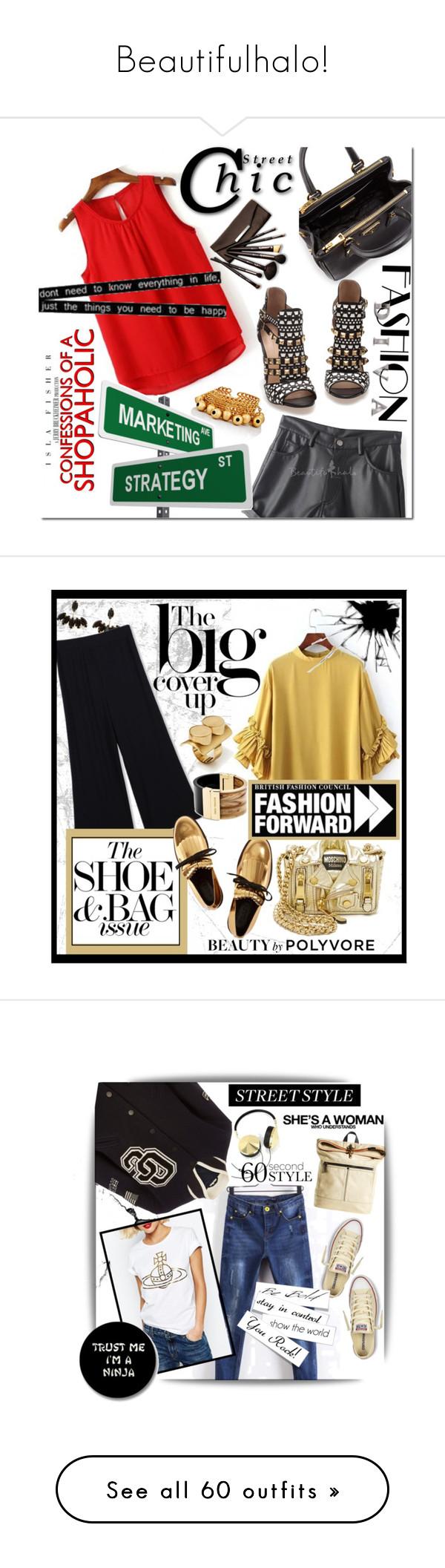 """Beautifulhalo!"" by ina-kis ❤ liked on Polyvore featuring Prada, Zara, Borghese, beautifulhalo, Emma Watson, Tory Burch, Moschino, Michael Kors, Marni and STATE Bags"