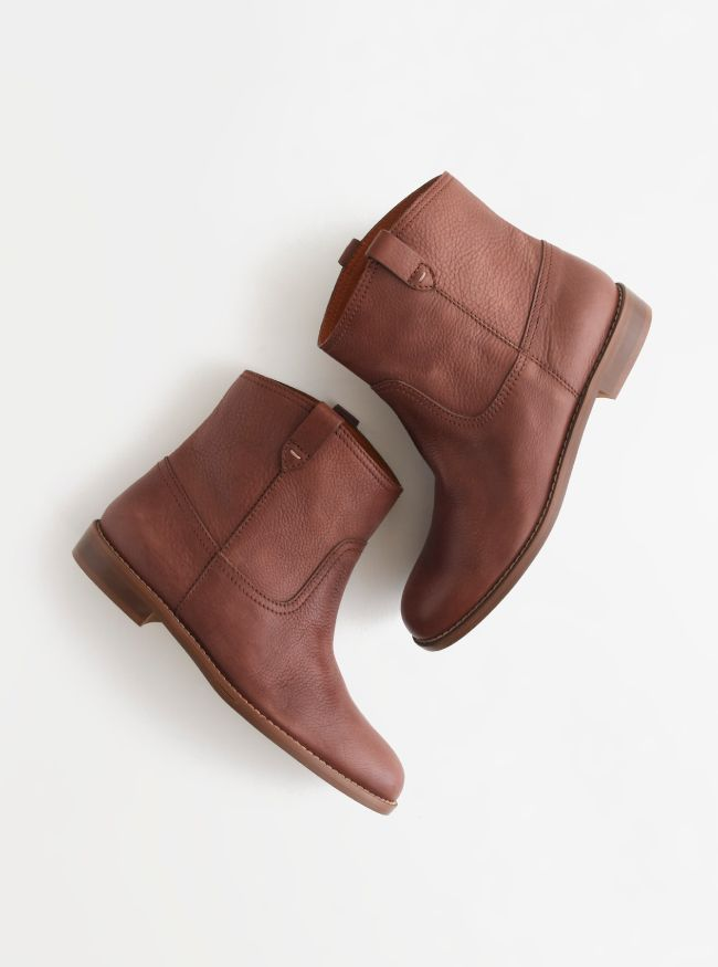 f815c563518f74 Madewell Pull-on boot. Loving ankle boots so much right now.